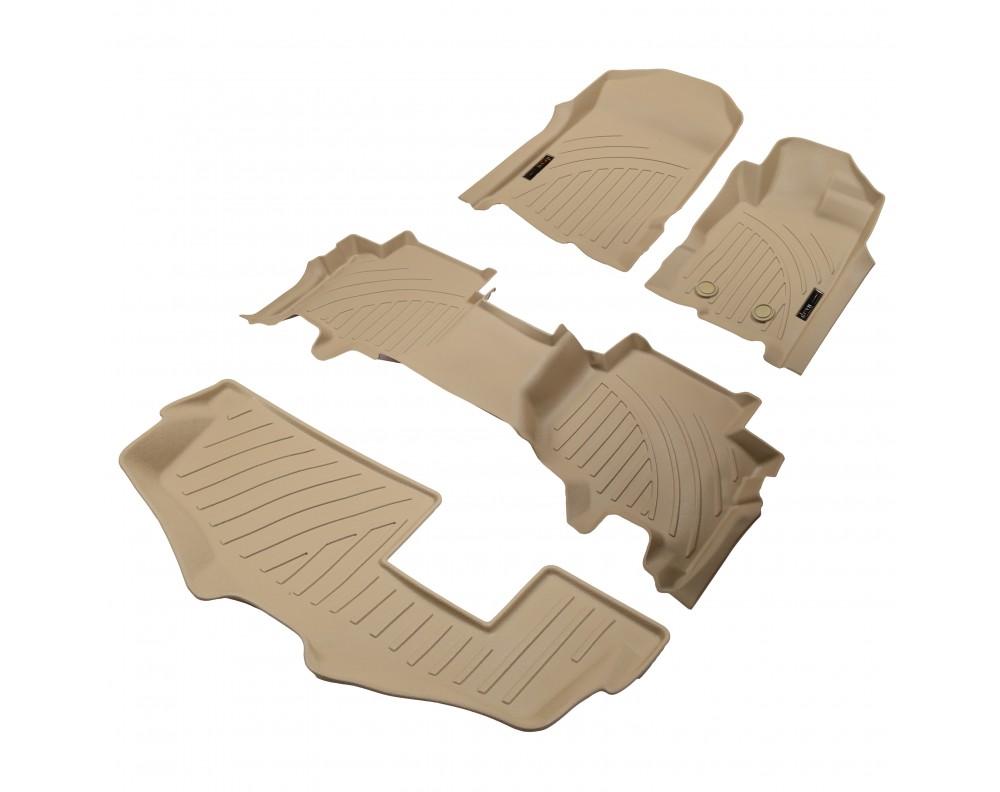 Ford Endeavour 5D Premium Rubber Mats