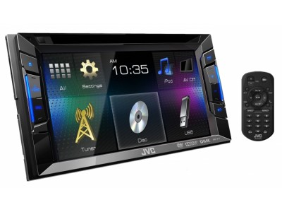 JVC  KW-V11 Touch Screen with DVD
